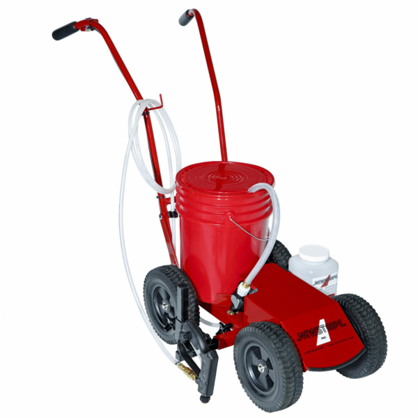 """<span style=""""``mso-bidi-font-weight: bold``;"""">The<strong> EcoLiner<sup>™</sup> Plus Battery Powered Field Striper</strong> machine features<strong><span style=""""``font-weight: normal; mso-bidi-font-weight: bold``;"""">:</span></strong></span> <p style=""""``margin-left: 7.5pt``;""""><strong>No Messy Pouring and Easy to Use</strong><strong> –</strong><span style=""""``mso-bidi-font-weight: bold``;""""> Simply, place a 5-gallon pail of premixed paint on the machine and you are ready to mark your field. Plus, changing colors is both fast and easy to do with the operator friendly design of this field paint machine.</span></p> <p style=""""``margin-left: 7.5pt``;""""><strong>Safe Operation </strong><strong>-</strong><span style=""""``mso-bidi-font-weight: bold``;""""> No pressurized tanks. No need to release pressure to add paint or clean. No high-pressure pump output to prohibit operator injury.</span></p> <p style=""""``margin-left: 7.5pt``;""""><strong>Cleanup is a Snap</strong><strong> -</strong><span style=""""``mso-bidi-font-weight: bold``;""""> When finished painting, simply flush clean water through the spraying system and the machine is ready for your next field marking job. Plus, the <strong>EcoLiner<sup>™</sup> Plus Field Striper</strong> machine has an onboard clean water reservoir that allows for instantaneous cleaning of the spraying system without the need of additional water buckets and containers. </span></p> <p style=""""``margin-left: 7.5pt``;""""><strong>Paint Fields in Half the Time</strong><strong> –</strong><span style=""""``mso-bidi-font-weight: bold``;""""> The efficient spray nozzle design of this field paint machine marks high-quality lines the first time, eliminating the need for tedious touch up and repainting of lines for increased visibility. Plus, the line width is fully adjustable from 2 inch -6 inch, allowing for greater flexibility to meet your field marking needs.</span></p> <p style=""""``margin-left: 7.5pt``;""""><strong>Flat Free Tires</strong><strong> –</strong><strong><span style=""""``font"""