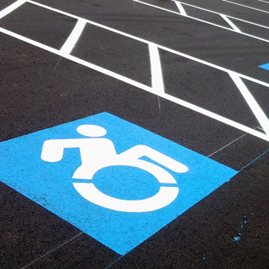 """Newstripes <strong>Accessible Icon Stencil</strong> uses the updated symbol created by the Accessible Icon Project. The symbol was created toshow the organic body moving through space, like the rest of the standard isotype icons usedin public space. The Accessible Icon has gained rapid recognition and is used internationally. Newstripes <strong>Accessible Icon Stencil</strong> is made of our durable 1/8"""" (125mil) PolyToughplastic it is the most durable stencil available. This handicap parking paint stencil can be used repeatedly for years to come and wont warp or deteriorate like wood and cardboard stencils. <strong>1/8 inch (125 mil)Lifetime Warranty</strong>"""
