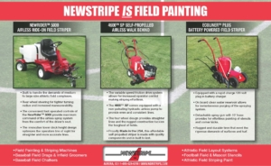Newstripe Athletic Field Paint Striping and Line Marking Machines 05