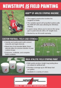 Newstripe Athletic Field Paint Striping and Line Marking Machines 03