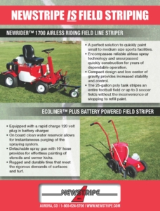 Newstripe Athletic Field Paint Striping and Line Marking Machines 02