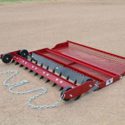 athletic field drag groomer for baseball infield