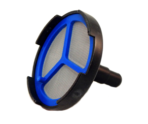 Airless Pump Suction Filter Assembly Includes: 1 P/N 10005112, Suction Head 1 P/N 10005111, Filter Screen