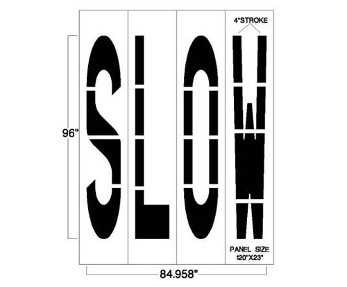 <strong>1/8inch</strong><strong>(125 mil). <strong><strong>This federal street stencil has a lifetime warranty.</strong></strong></strong>