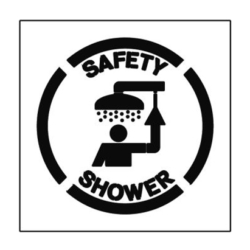 paint stencil safety shower 01