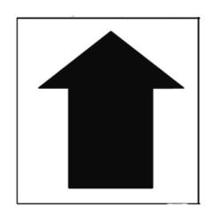 Paint Stencil Arrow