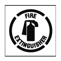 Paint Stencil Fire Extinguisher 01