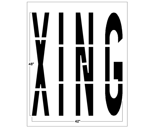 <strong>1/8 inch</strong><strong>(125 mil). <strong><strong>This road marking template comes with a lifetime warranty.</strong></strong></strong>