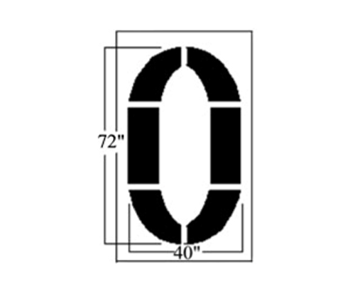 Replacement Characters for our 72 inch Football Field Kit. Why buy a whole new kit when you an replace it with our individual Numbers 0-5 and the letter G are available. Price is per character. Please indicate desired character when placing order. <strong>1/8 inch </strong><strong> (125 mil) Lifetime Warranty</strong>