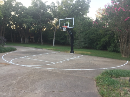 """Our<strong>NCAA Complete Basketball Set </strong>is ideal for marking a regulation size basketball court. Each set is made from our industrial strength 1/8"""" (125mil) PolyTough plastic, so it will not blow away and is easy to clean. <ul> <li><strong>Easy to clean</strong></li> <li><strong>1/8 inch (125 mil) thick</strong></li> <li><strong> Lifetime Warranty</strong></li> </ul>"""