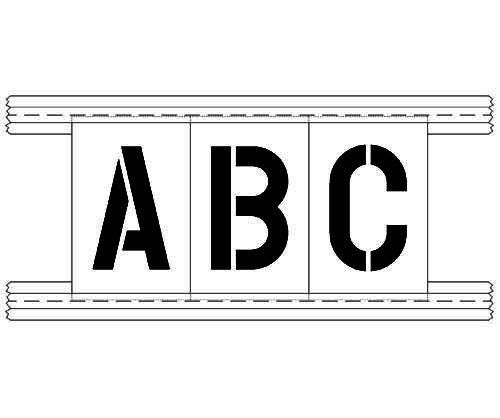 """The Newstipe Stencil Trac is designed to hold 1/8"""" thick stencils. Itholdthe individual character in place so you can use itover and over again, switch-out one letter or number for another. Great for marking numbers or names on reservedspaces. Comes with two 48"""" double sided locking channels and two 48"""" x 4"""" PolyTough™ plastic overspray panels for extra overspray protection on the top and bottom. We also offer an <span style=""""color: #ff0000;""""><a style=""""color: #ff0000;"""" href=""""https://www.newstripe.com/polytough-stencils-and-templates/letter-number-stencils/alphabet-kits-a-z/complete-alphabet-kit/"""" target=""""_blank"""" rel=""""noopener noreferrer"""">Alphabet Stencil Kit</a></span>."""