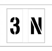 Individual Letters and Numbers