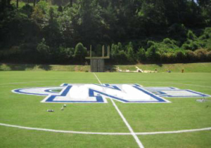 Athletic Field Painted Logo