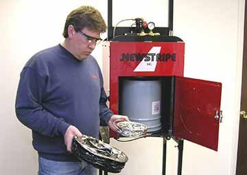 Industrial Aerosol Can Disposal System