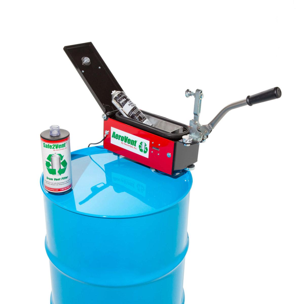 aerosol can disposal system single can newstripe newstripe