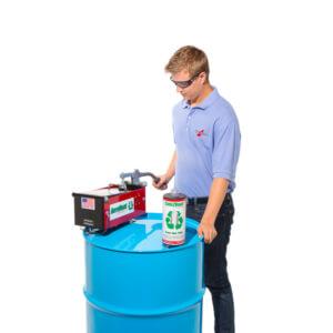 Aerovent 1X Aerosol Can Disposal System operation step 3