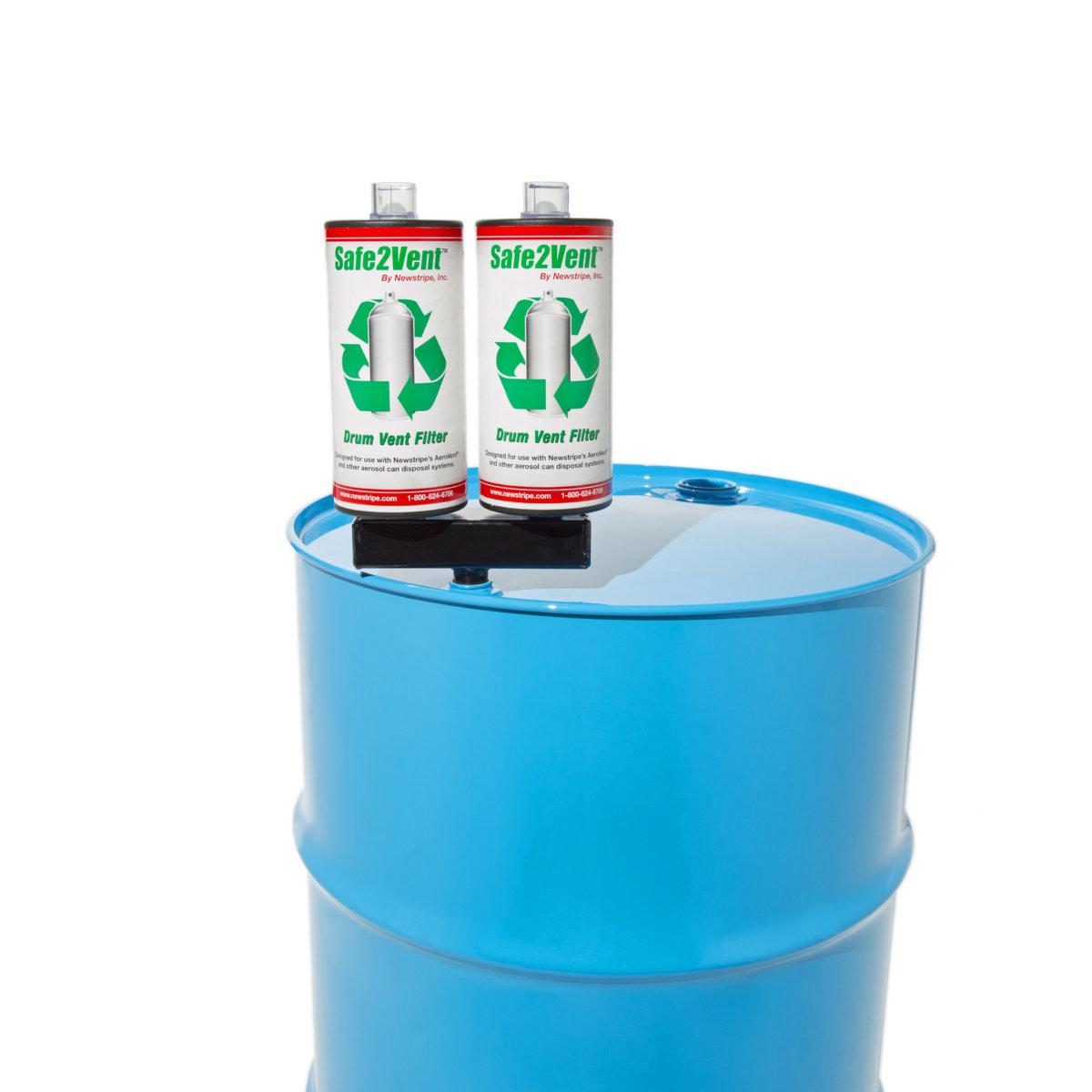 Aerosol Disposal System Dual Filter Aerosol Paint Disposal