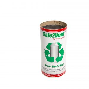 Safe2Vent aerosol can disposal cartridge