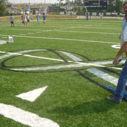 Football Field and Playground Stencils