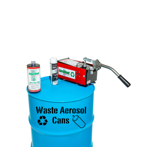 """<div class=""""description""""> Newstripe's <strong>Waste Aerosol Can Disposal Stencil</strong> is the preferred labeling for many state environmental personnel. Our <strong>Aerosol Can Recycle</strong><strong>Stencil</strong> is cut from 1/16-inch<strong> PolyTough™</strong> industrial plastic. It is extremely durable and designed to be used thousands of times. </div> Proudly made in the <strong>USA</strong>, our <strong>PolyTough</strong><strong>™ </strong>stencils are the benchmark for stenciling. <div class=""""description"""">  </div>"""