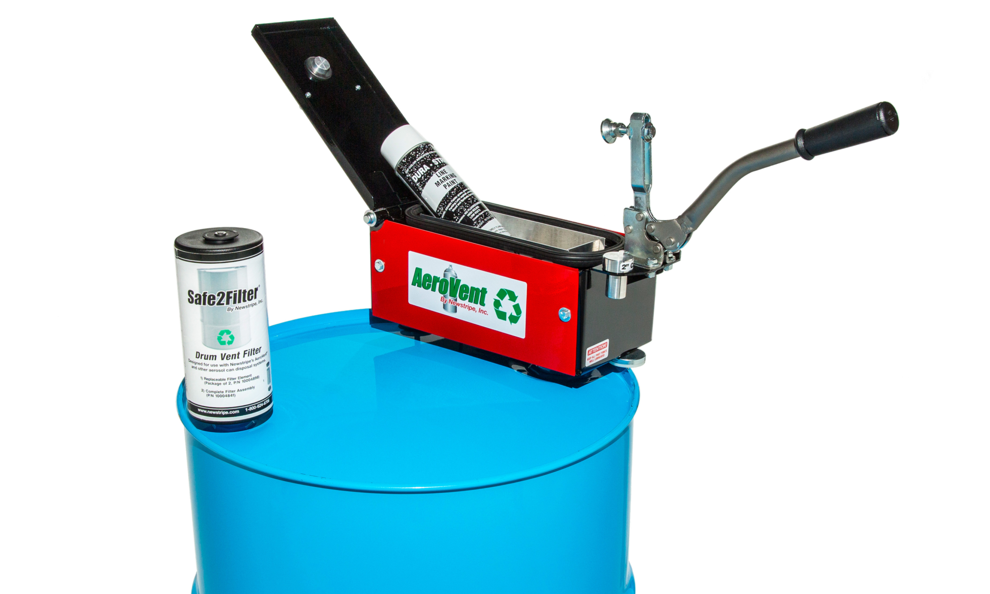 Aerovent Aerosol Can Disposal Aerosol Can Puncture Device