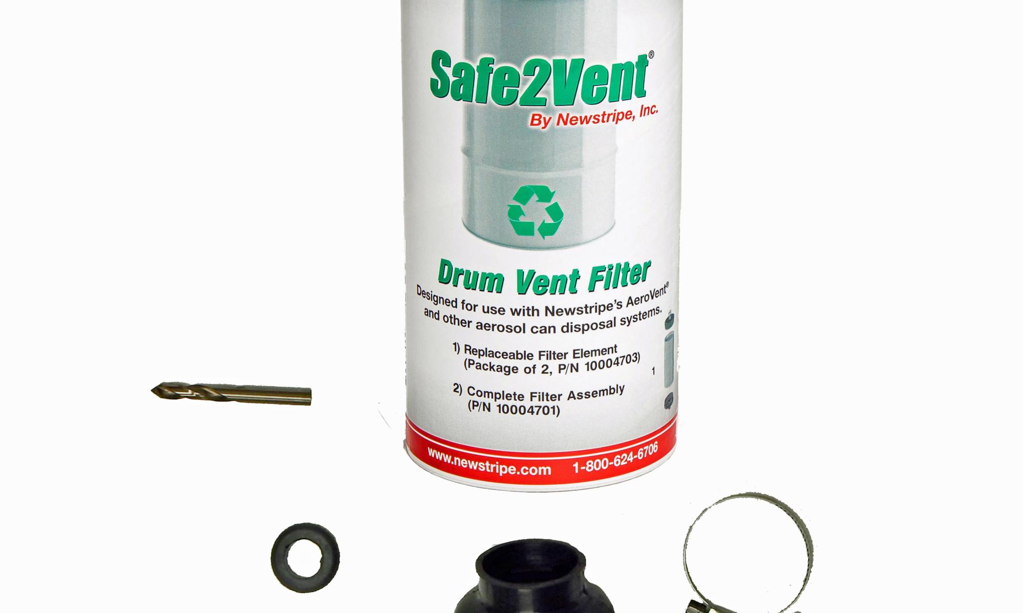 Kit includes the following aerosol disposal equipment: 1) 10004702, Safe2Vent Filter Replacement 2) 10001874, Trough Liner Grommet 1) 10003791, Bellow 2) 10003794, Bellow Clamps 1) 10003377, Cobalt Point