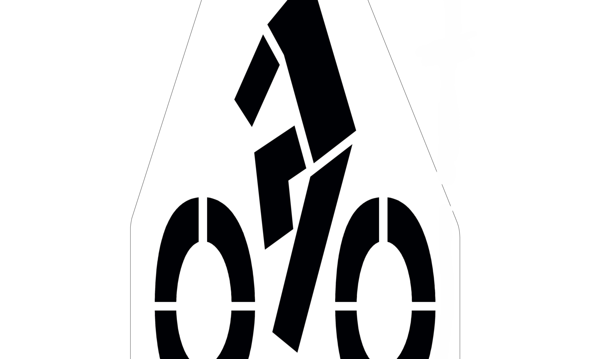 """Bike paths and lanes are becoming increasingly popular. Make sure you have a stencil durable enough to be used over and over. Each stencil is made from our 1/8"""" (125mil) Polytough plastic and comes with a lifetime warranty. <ul> <li><strong>Built to last:</strong>Made of the thickest material available 1/8"""" (125mil) PolyTough plastic</li> <li><strong>Lies Flat: </strong>No need to tape. Wont move or blow away.</li> <li><strong>Easy to clean:</strong> Dried cracked paint can be brushed off. Or clean with a hose</li> <li><strong>Easy to Store</strong>: Can be rolled up for easy transport and storage</li> </ul>"""